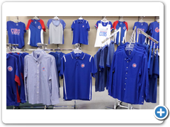 Mens and womens dress or game day selection includes plus sizes.