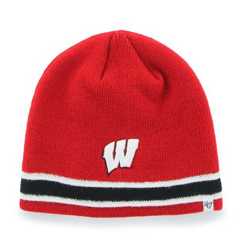 e1331acf591 Badgers Men s Superpipe Knit Beanie - Badgers Mens and Women s - Sportswear  WI