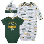 Packers Big Packers Fan Gown Set
