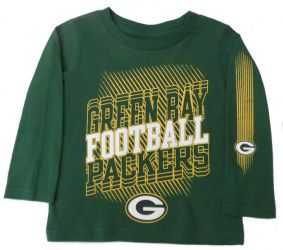 Packers Toddler Frequency Long Sleeve T-Shirt