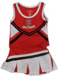 Badgers Infant 2 Piece Cheerleader
