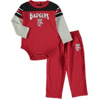 Badgers Infant Halfback Pant Set