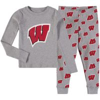 Badgers Toddler Long Sleeve Tee and Sleep Pants