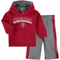 Badgers Infant Punter Fleece Set