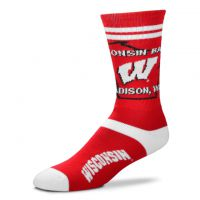 Badgers Adult State Outline Socks