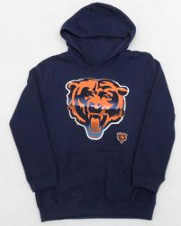 Bears Youth Chrome Logo Hoodie