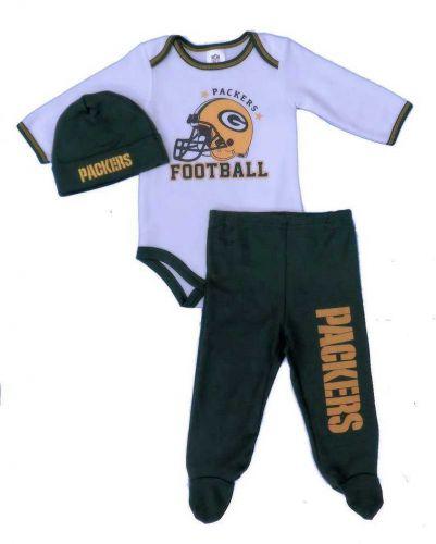 2d0cb4cc4b70 Packers Newborn Football Creeper