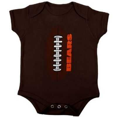 Bears Newborn Football Creeper