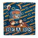 Bears Lil' Fan Burp Cloth