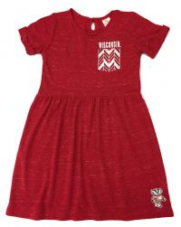 Badgers Girl's Warm-Up Dress