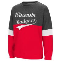 Badgers Girl's Rockyroad Crew Sweatshirt