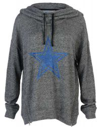 Cowboys Womens Cartwright Cowl Hoodie