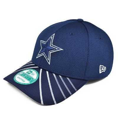 Cowboys Visor Beam Adjustable Baseball Cap