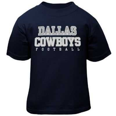Cowboys Infant Navy Practice Tee