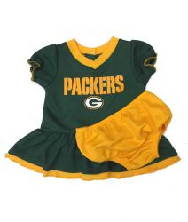 Packers Baby Dazzle Dress and Diaper Cover