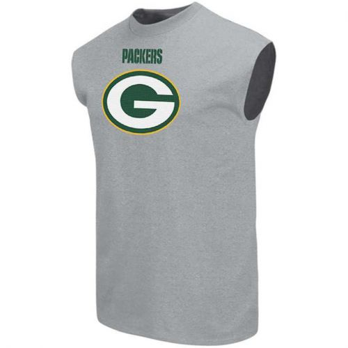 Packers Men's Big and Tall Critical Victory II Muscle Shirt