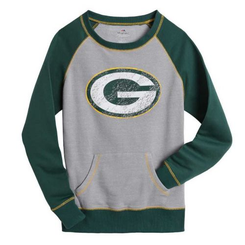 Packers Women's Plus OT Queen Raglan