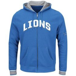 Lions Men's Anchor Point Full Zip Hoodie