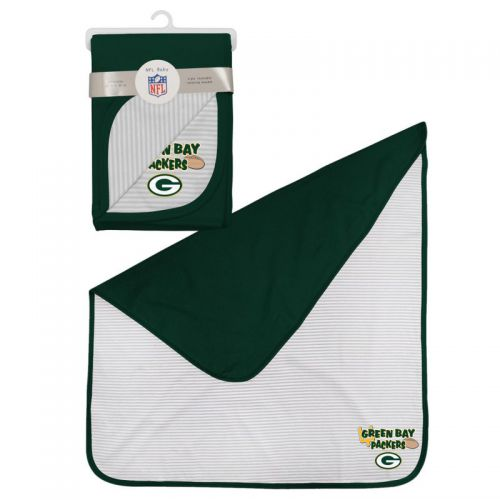 Packers 2-Ply Reversible Receiving Blanket