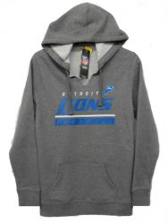Lions Ladies Self Determination Split Neck Hoodie