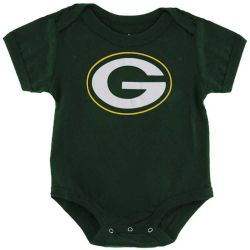 Packers Baby Logo Bodysuit