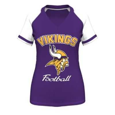 bc099a02 Vikings Womens Go For Two IV Top