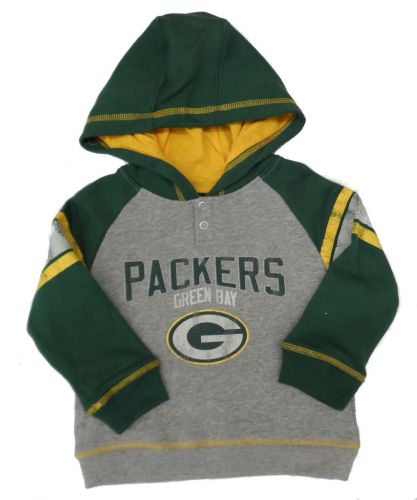competitive price 48ed4 0f1c1 Packers Preschool Classic Stripe Pullover Hoodie