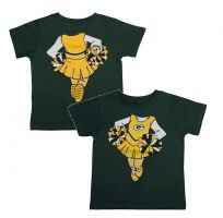 Packers Toddler Cheerleader Dreams T-shirt