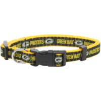 Green Bay Packers Green & Gold Pet Collar