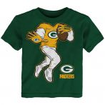 Packers Toddler Yard Rush II T-shirt