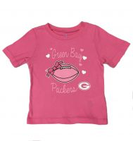 Packers Toddler Pink Sunday Best T-shirt