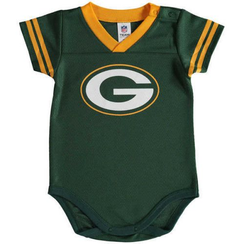 Packers Baby Dazzle Bodysuit