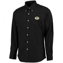 Packers Men's Big & Tall Black Dynasty Long Sleeve Shirt