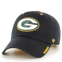 Packers Men's Black Ice Cleanup Baseball Cap