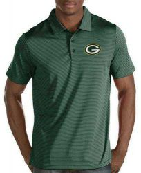 Packers Men's Big and Tall Striped Quest Polo