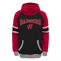 Badgers Preschool Boy's Robust Hooded Sweatshirt