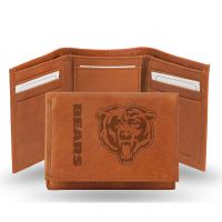 Bears Leather Embossed Trifold