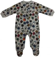 NFL All Over Print Raglan Zip Up Coverall