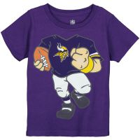 Vikings Infant Football Dreams T-shirt