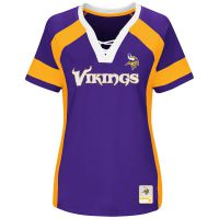 Vikings Women's Plus Draft Me Fashion Top