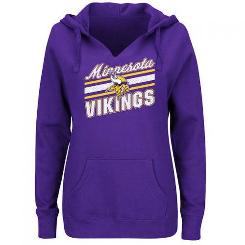 on sale cd98e 598a8 Vikings Women's Plus Highlight Play Hoodie