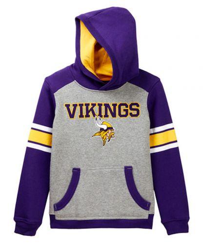 various colors 49f86 5d184 Vikings Youth Allegiance Pullover Hooded Sweatshirt