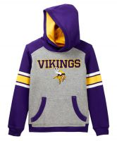Vikings Youth Allegiance Pullover Hooded Sweatshirt