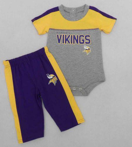 Vikings Newborn Horizon Creeper and Pants Set - Vikings Newborn Through  Youth - Sportswear WI 5585d2875