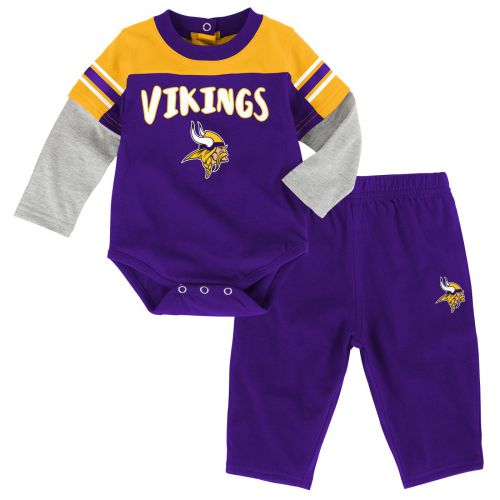 reputable site 64711 794f1 Vikings Infant Halfback Pant Set