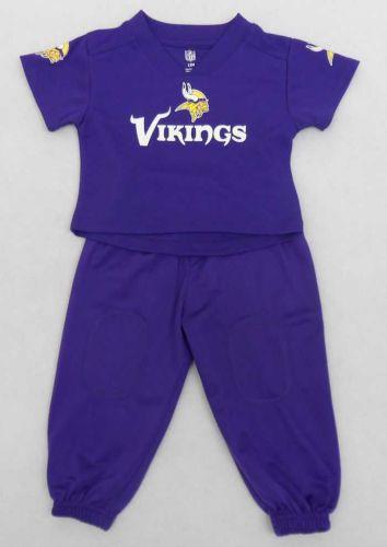 Vikings Infant Boys Field Goal Pants Set - Vikings Newborn Through Youth -  Sportswear WI a10450b2a