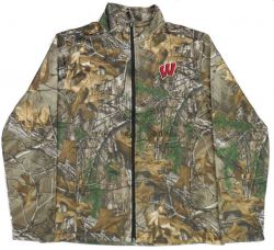 Badgers Men's Realtree Clearcut Full Zip