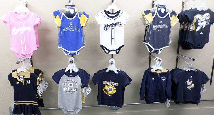 Brewers Kids Sports Clothing